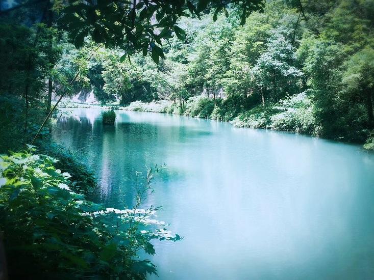 中亚楠木林大峡谷景区一期对外开放